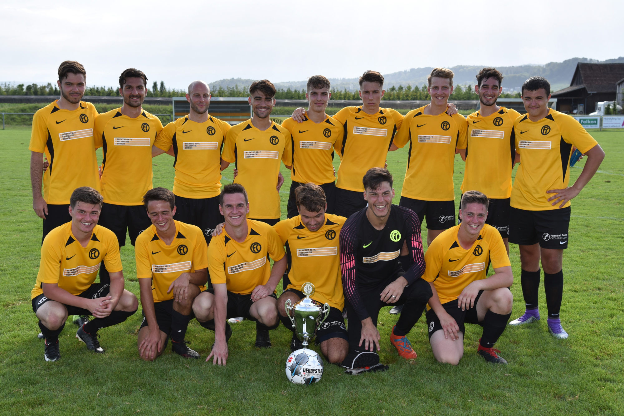 FC Oberglatt gewinnt das 1. TAURUS Sports Grenzlandturnier