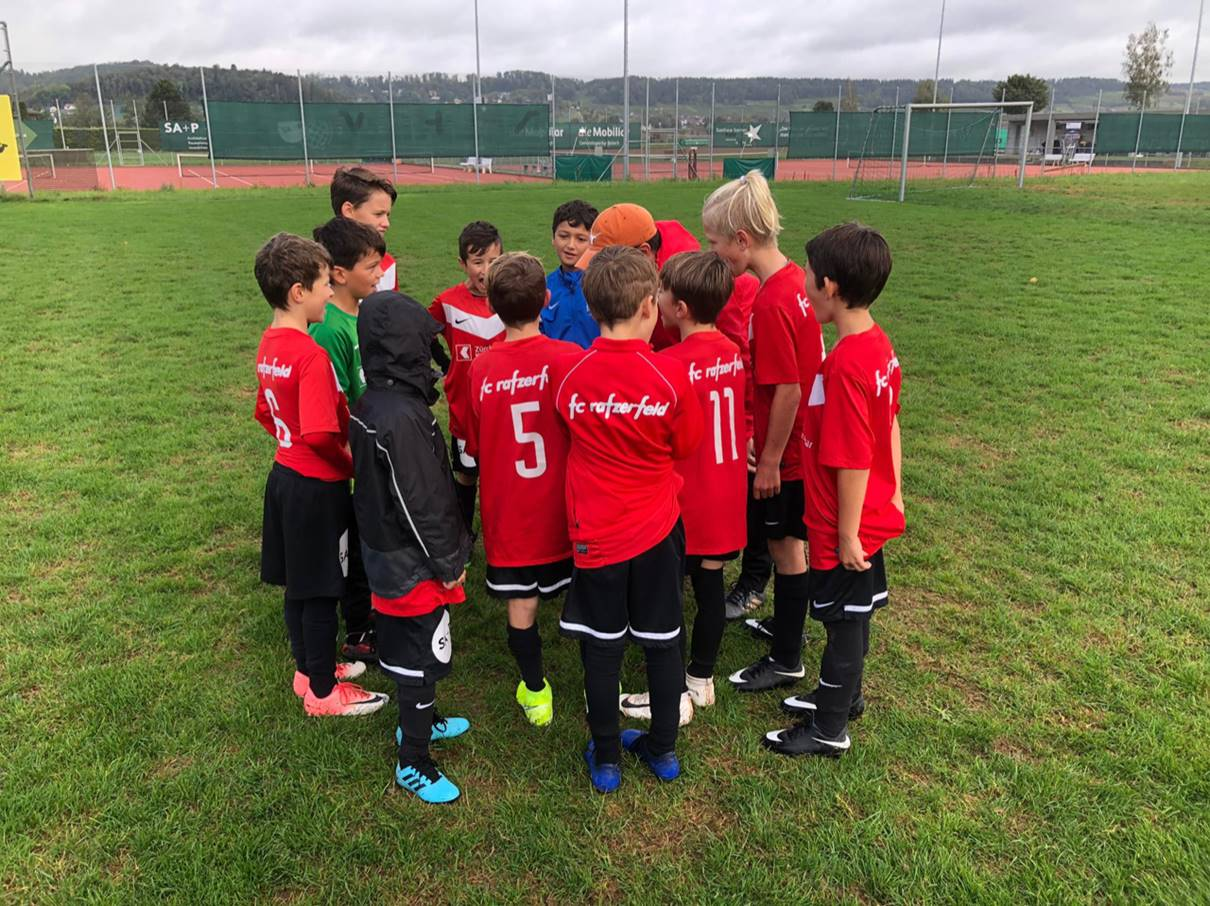 Resultate der Aktiven und Juniorinnen und Junioren des FC Rafzerfeld von der Woche 30.09-04.10 sowie vom Spielwochenende 05/06.10
