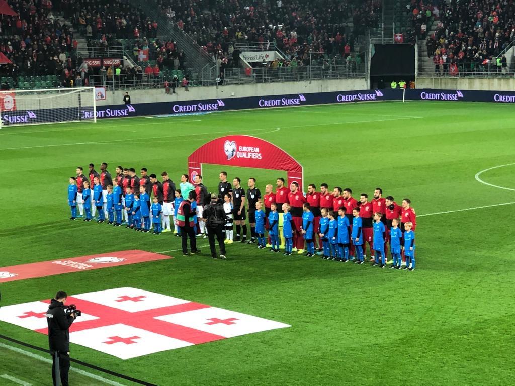 Schweiz vs Georgien mit unseren Junioren