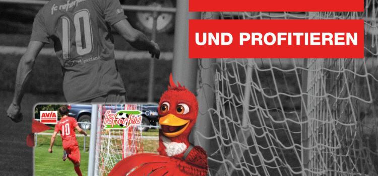 Den FC Rafzerfeld unterstützen, gleichzeitig dauerhaft beim Tanken sparen und alles ohne Zusatzkosten-gibts nicht? Gibts doch!!!